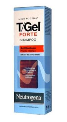 Neutrogena Linea Capelli T/Gel Total Shampoo Contro la Forfora e Prurito 125 ml