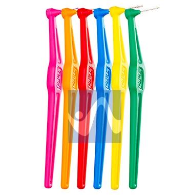 TePe Linea Cura Dentale Quotidiana 6 Scovolini Angolati 0,70 Colore Giallo