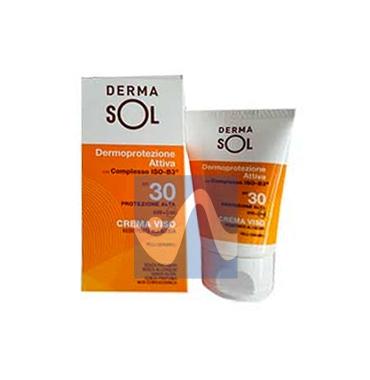 Dermasol Linea Protezione Solare SPF30 Crema Viso Protezione Alta 50 ml