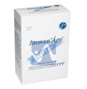 ImmunAge Linea Starter Papaya Liofilizzata Integratore Alimentare 10 Buste
