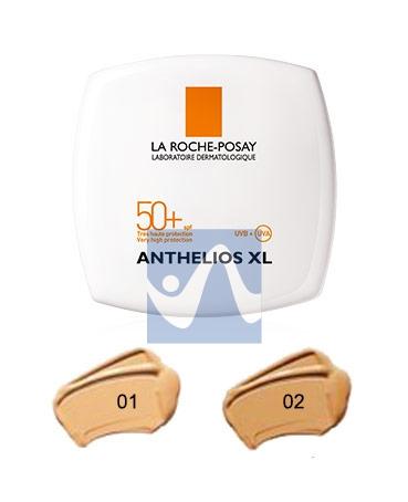 La Roche Posay Linea Anthelios SPF50+ XL Crema Compatta Uniformante Colore 02 9g
