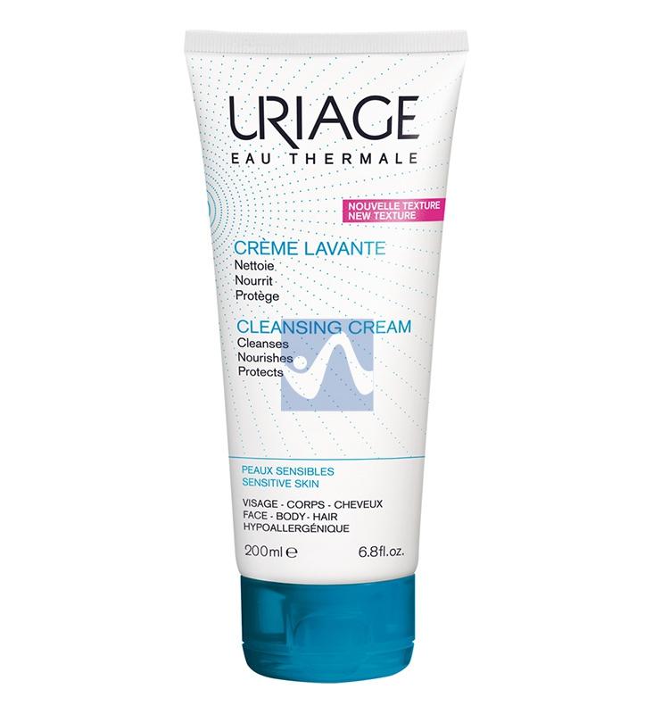 Uriage Linea Corpo Creme Lavante Detergente in Crema senza Sapone 200 ml
