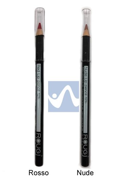Rougj Linea Make-up Matita Labbra Morbida a Lunga Tenuta Colore Rosso