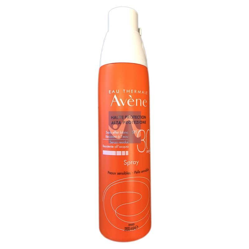 Avene Linea Solare Pelli Sensibili SPF30 Spray Solare Protezione Media 200 ml