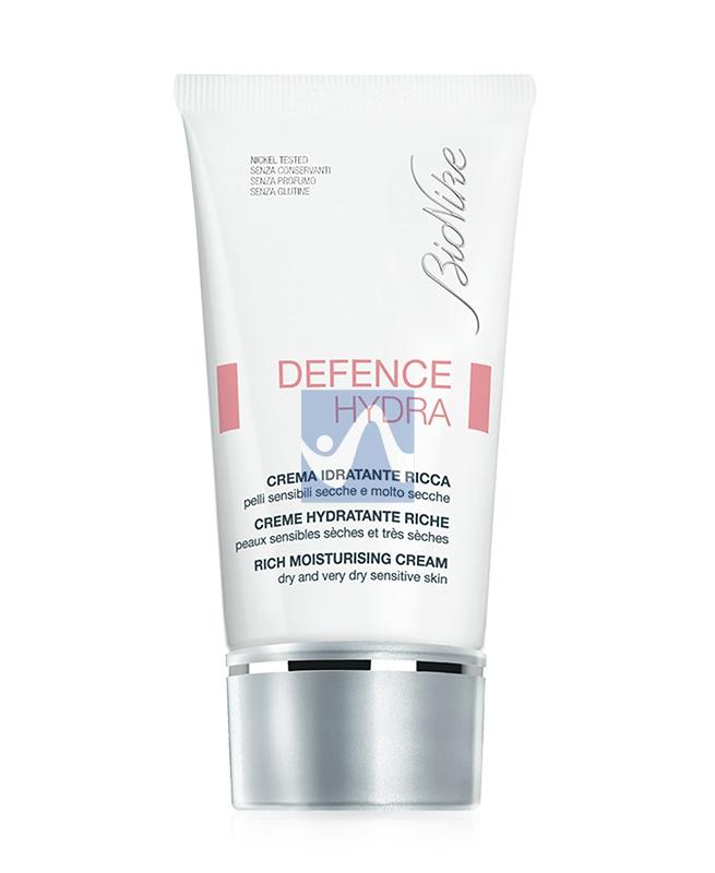 BioNike Linea Defence Hydra Crema Idratante Ricca Pelli Secche 50 ml