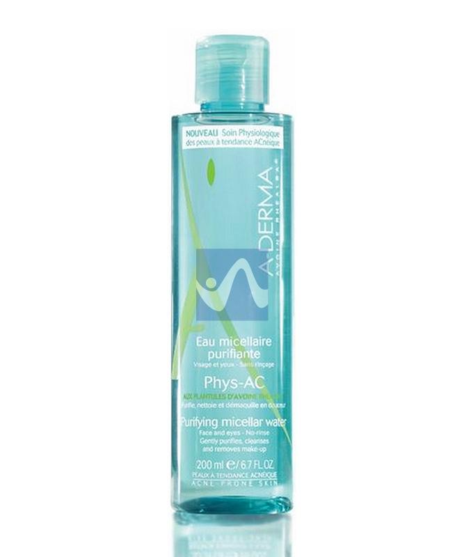 A-Derma Linea Phys-AC Pelli Grasse Acqua Micellare Struccante 200 ml