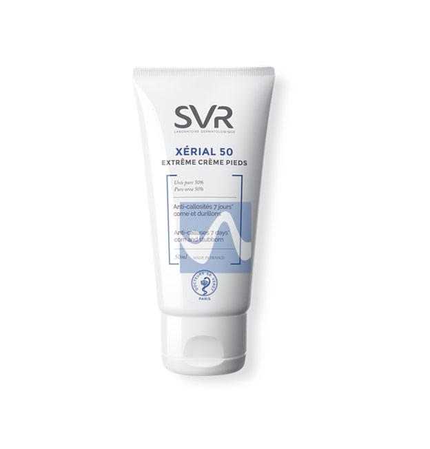 SVR Linea Xérial 50 Extrême Crème Pieds Trattamento Urea Levigante Piedi 40 ml