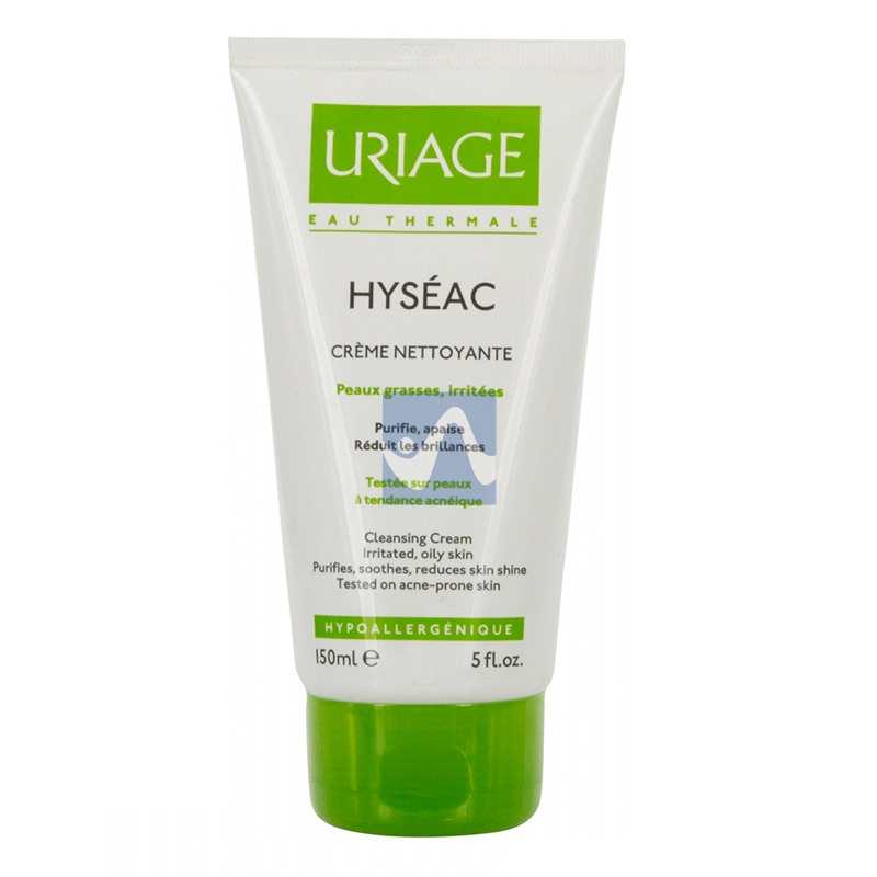 Uriage Linea Pelle Grassa Impura Hyseac Crema Detergente Purificante Viso 150 ml