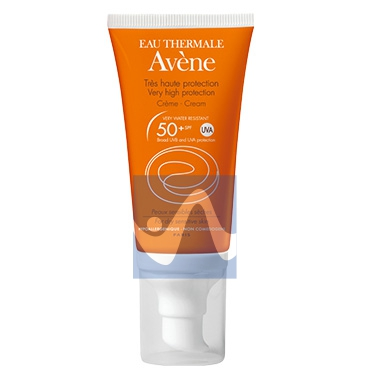 Avene Linea Solare Pelli Sensibili SPF50+ Crema Solare Senza Profumo 50 ml
