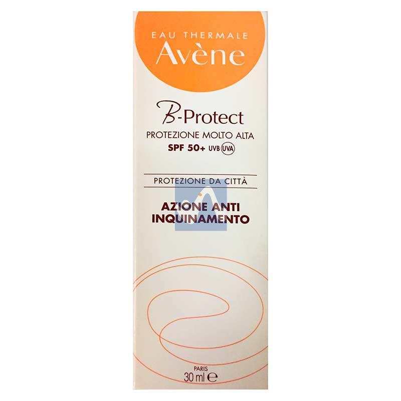 Avene Linea Solare SPF50+ B-Protect Crema Solare Viso Anti-Inquinamento 30 ml