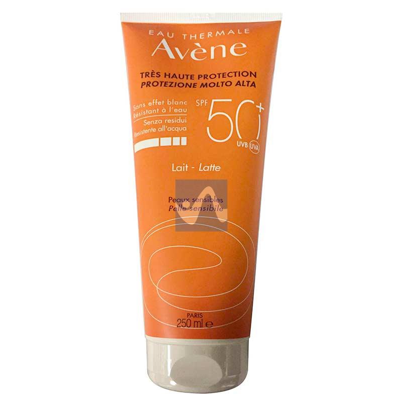 Avene Linea Solare Pelli Sensibili SPF50+ Latte Protezione Molto Alta 250 ml