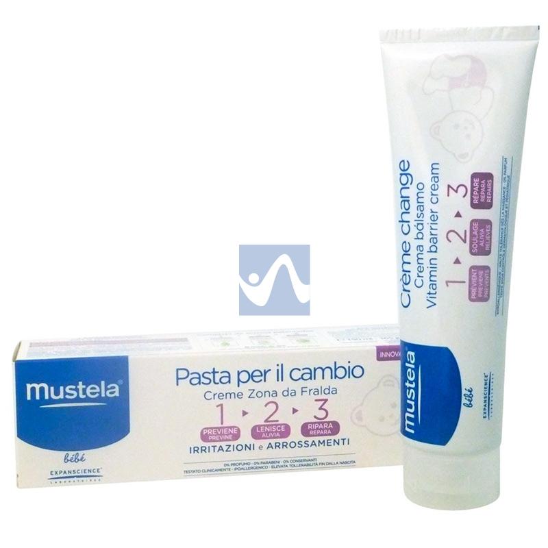 Mustela Linea Cambio Pannolino Pasta Cambio 123 Lentiva Protettiva 100 ml
