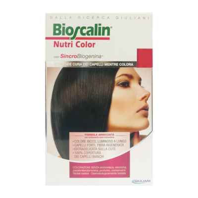 Bioscalin Linea Nutri Color SincroBiogenina Colorazione Capelli 6 Biondo Scuro